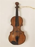 Piano music box and mini violin
