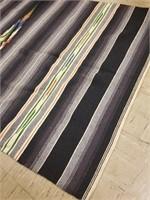 Southwestern style woven blanket rug