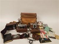 Voigtländer & Ansco cameras, lenses, etc