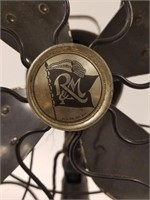 Vintage R & M Banner metal fan