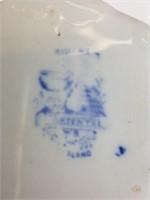 J&G Alcock platter with Ridgways cream & sugar