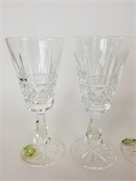 2 pairs of Waterford Crystal glasses