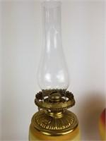 Hurricane oil parlor lamp