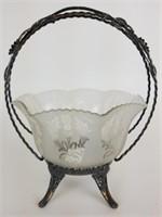 Wilcox Silver Plate Co bridal basket