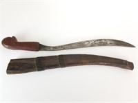 Primitive curved dagger