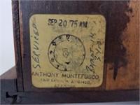 Gilbert wood mantle clock