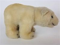 Steiff plush pig and polar bear