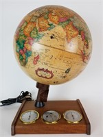 1980s light up globe and weather station