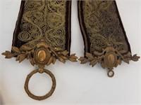 3 Victorian bell pulls