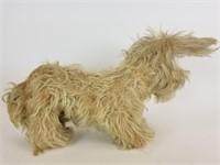 Plush stuffed terrier dog