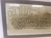 WWI, 4th Battalion 23rd Engineers, yard long photo