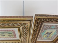 Lot of 2 Middle Eastern art on celluloid
