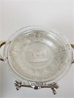 Large lot of silver plate items