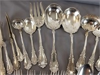 Rogers Bros and Vernon silver plate flatware