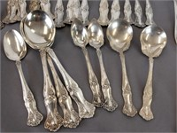 Rogers Bros & Oneida silver plate flatware