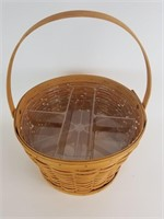 1998 Longaberger sewing basket