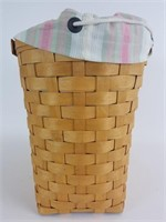 2001 Longaberger Large Boardwalk Basket combo