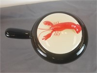Shawnee Kenwood Lobster dish & 4 Libby glasses