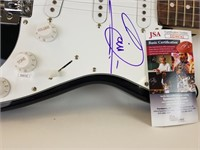Autographed Bee Gees Huntington guitar