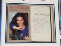 June Carter Cash autographed book