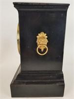 Vintage Lion head mantle clock