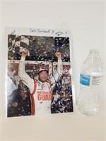 Dale Earnhardt Jr autographed photo