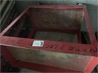 Red Roller Cart