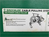Greenlee 640 Power Cable Puller in Box