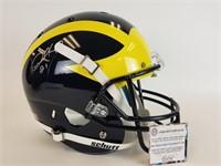 Desmond Howard signed football helmet