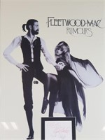 Autographed Fleetwood Mac picture