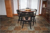 Kitchen Table w/ Four Chairs