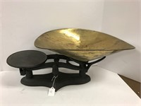 Iron and brass scale