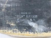 Ken Harris canvasback, stamped on bottom