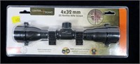 Center Point 4x32 rimfire rifle scope, new