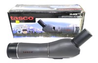 Tasco 20-60x zoom spotting scope with tripod