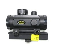 BSA red dot sight with rail, RD30