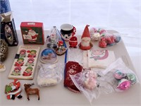 Vintage Christmas Ornament Lot