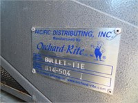 Orchard-Rite Bullet IIE Side Mount Orchard Shaker