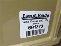 10' Land Pride Hydraulic Angle Blade