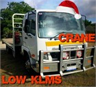 2013 Fuso Fighter 1024 Crane Truck