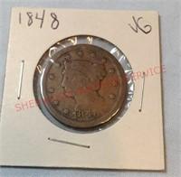 1848 G Penny