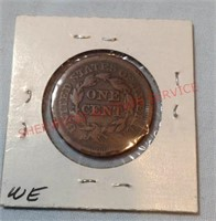 1851 F Penny