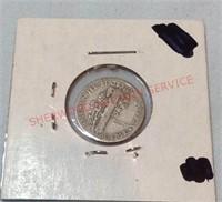 1941 G Mercury Dime
