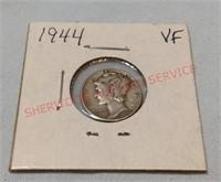 1944 VF Mercury Dime