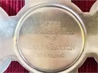 1971 Sterling Xmas Gorham Ornament