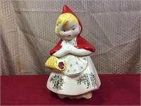 Hull #967 Red Riding Hood Cookie Jar