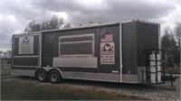 26 ft Food Trailer Loaded