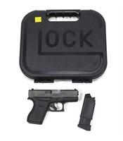 """Glock Model 43- 9mm, Sub Compact 3.39"""" barrel,"""