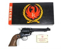Ruger Single Six .22 LR S.A. Revolver w/Extra .22