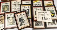 Lot of 14+ Original WWII TIME Magazine Covers